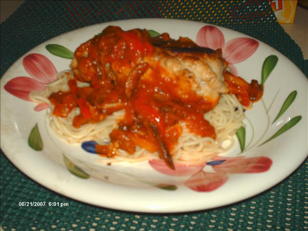 Chicken-Wrapped Sausages With Mushroom-Tomato Sauce