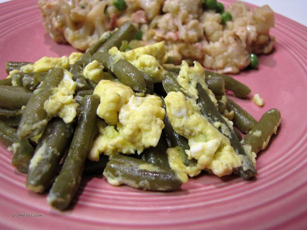 Scrambled Green Beans