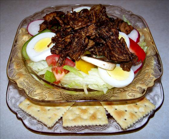 Balsamic Pork Garden Salad