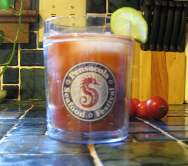 Jerk-Flavoured Bloody Mary