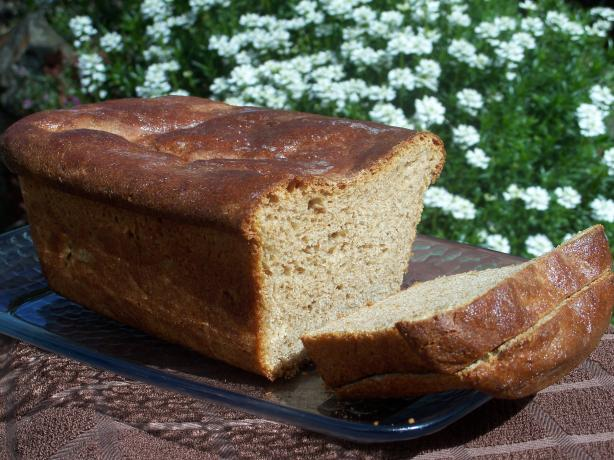 Great Honey Wheat or White Bread