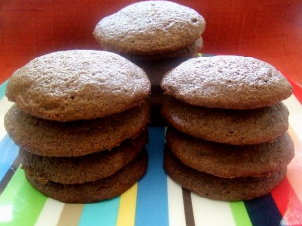 Low Sugar Double Chocolate Chip Cookies