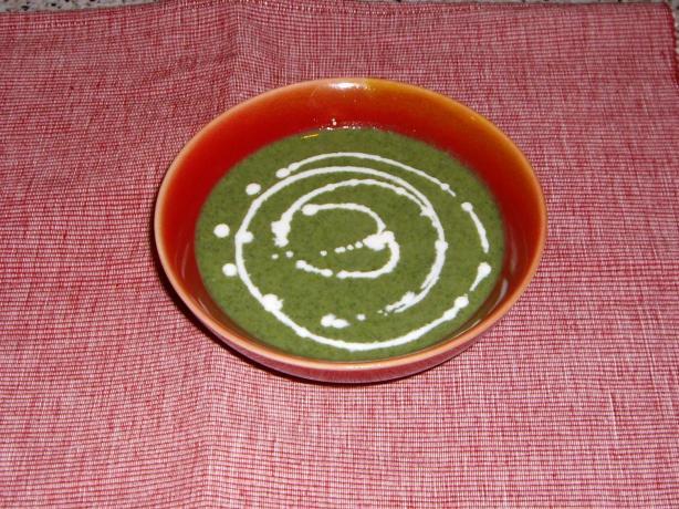 Cream of Nettle Soup (vegan)