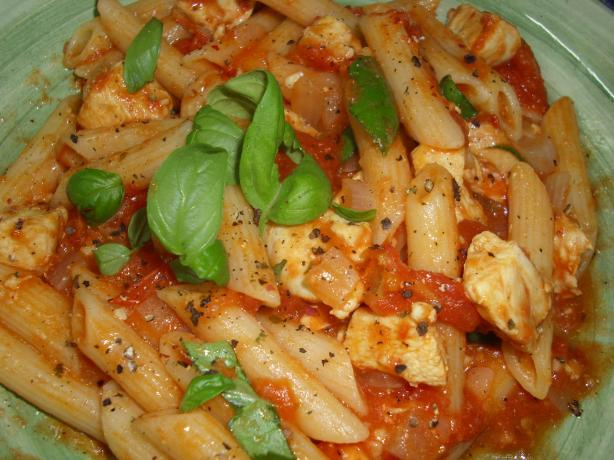 Chicken Basil Pasta