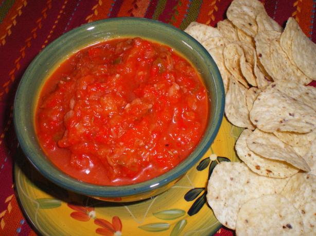 Red Pepper Dip With Taco Chips