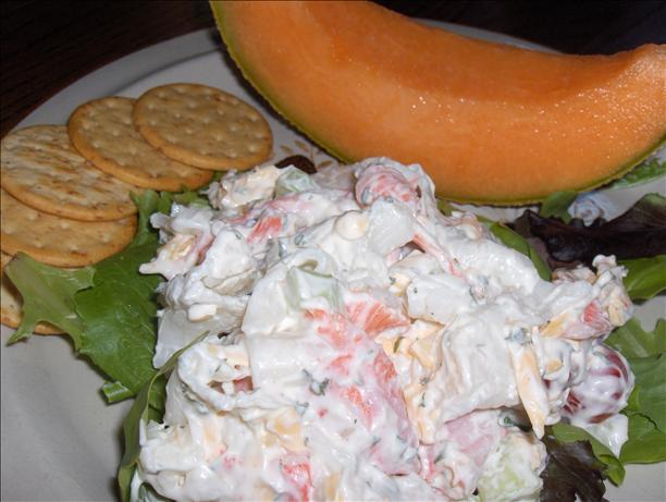 Green Goddess Crab Salad