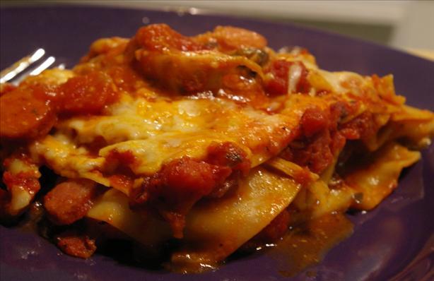 Antipasto Lasagna