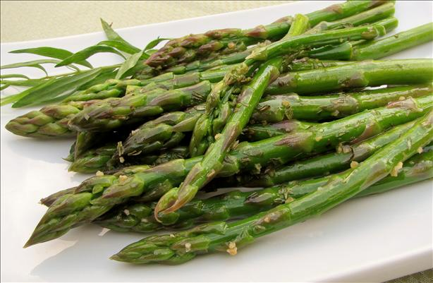 Asparagus With Lemon and Tarragon