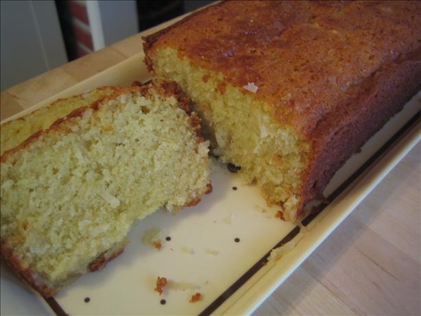 Macaroon Tea Bread