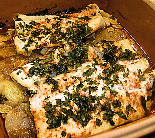 Moroccan Fish and Potatoes