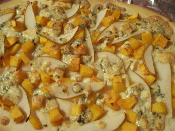Pumpkin and Pear Pizza