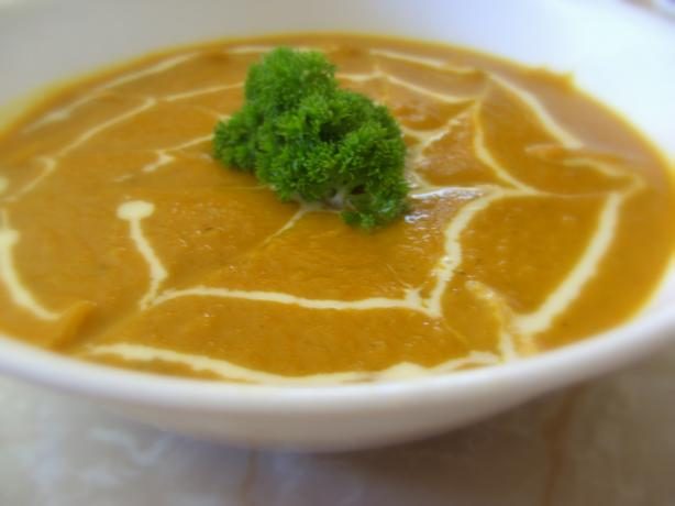 West Indian Sweet Potato Soup