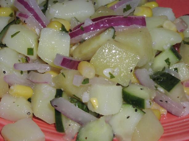 Caribbean Sweet Potato Salad