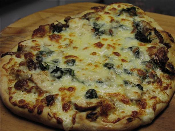 Chicken Dijon Pizza