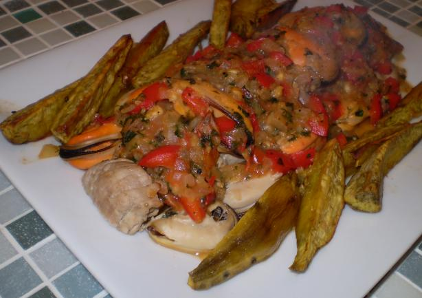 Fillet of Pork With Mussels (Lomo De Porco Com Amêijoas)