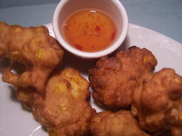 Corn & Coconut Fritters