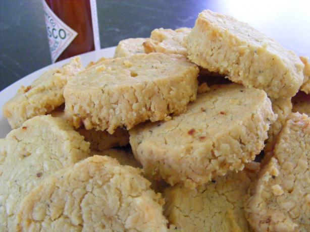 Cheddar Cookies