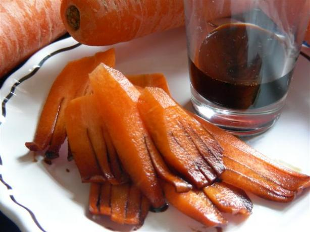 Soy Sauced Carrots