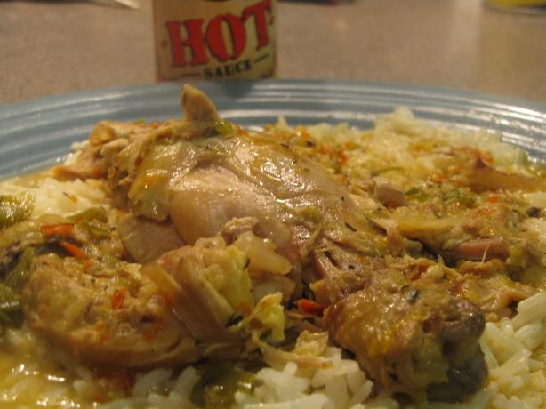 Drunken Smothered Chicken
