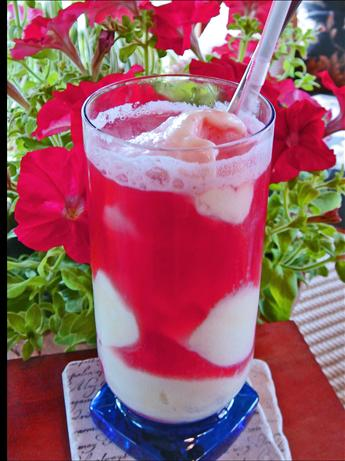 Frosty Fruity Float