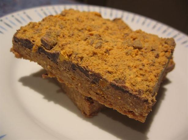 Chocolate Honeycomb Slice