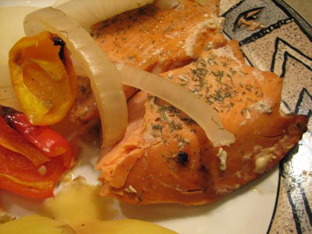 Smoked Salmon With Sweet Onions
