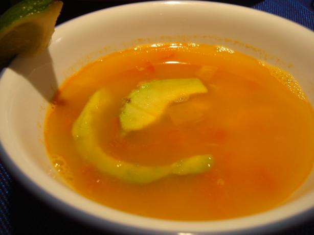 Sopa De Lima (Merida, Yucatan)