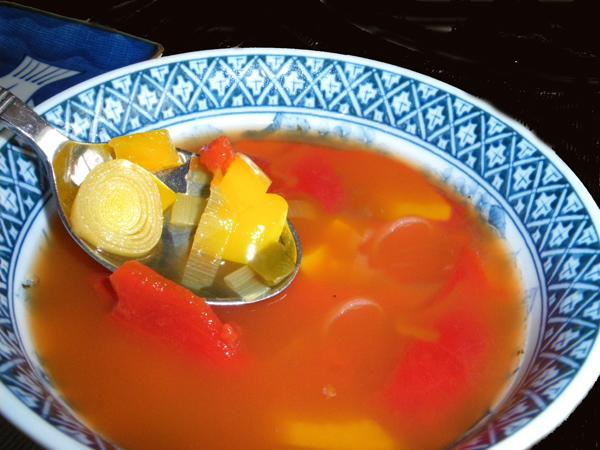 Hvidløgssuppe (Garlic Soup)
