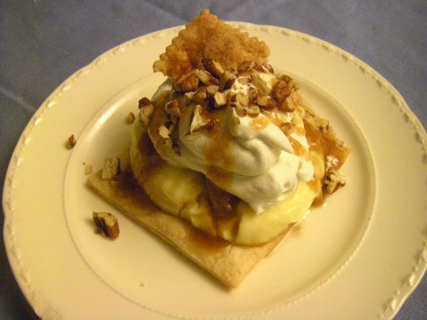 Deconstructed Banana Cream Pie & Bananas Foster Variation