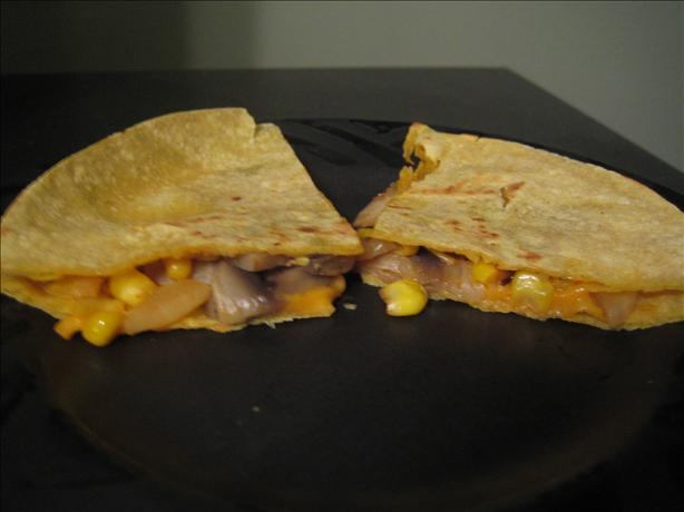 Corn Quesadillas