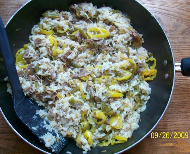 Christine's Cheesesteak Rice