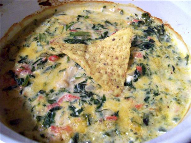 Old Mexico Spinach-Cheese Dip