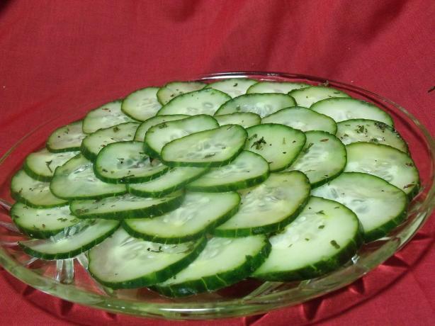 Swedish Cucumber Salad - Pressgurka