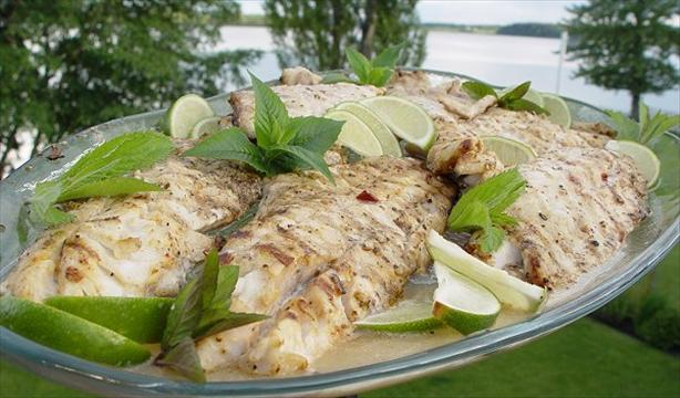 Oaxacan Grilled Fish - Mexico