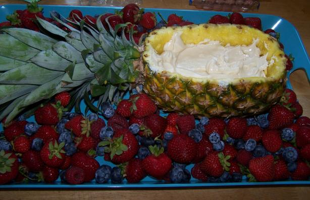 Only the Best Fruit Dip Ever!