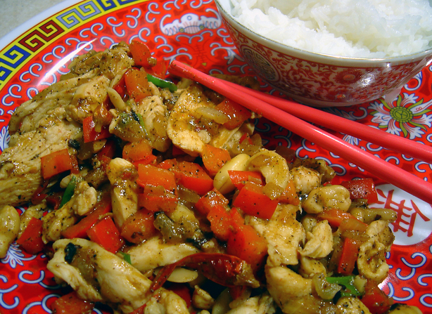 Dried Chili Chicken