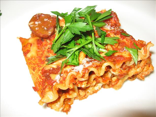 Low-Fat No Boil Lasagna