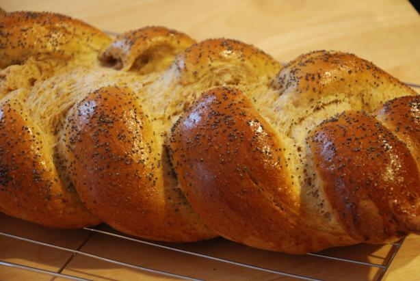 Ma's Whole Wheat Honey Challah