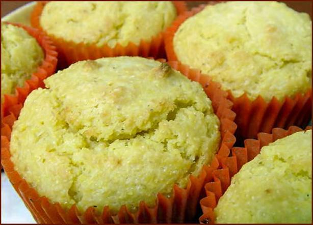 Maismeel Kadetjes - Cornmeal Muffins
