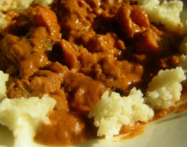 Ugandan Groundnut Stew
