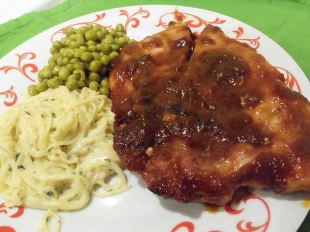 Darrell's Zingy Pork Chops