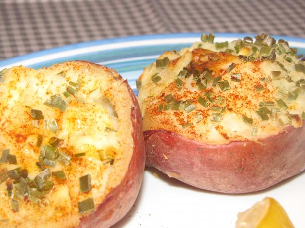 Stuffed Mini Red Potatoes, Lite Recipe