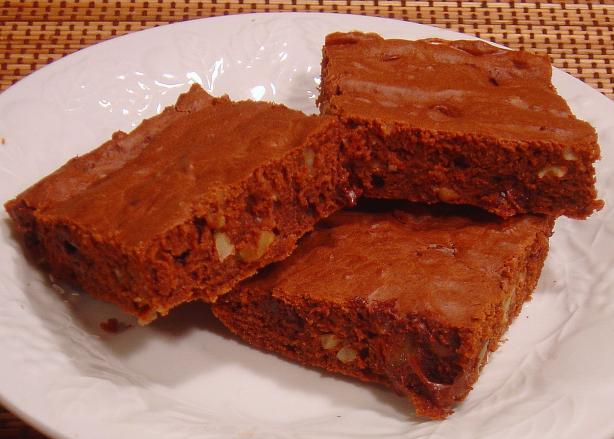 Chewy Walnut Brownies (Splenda)