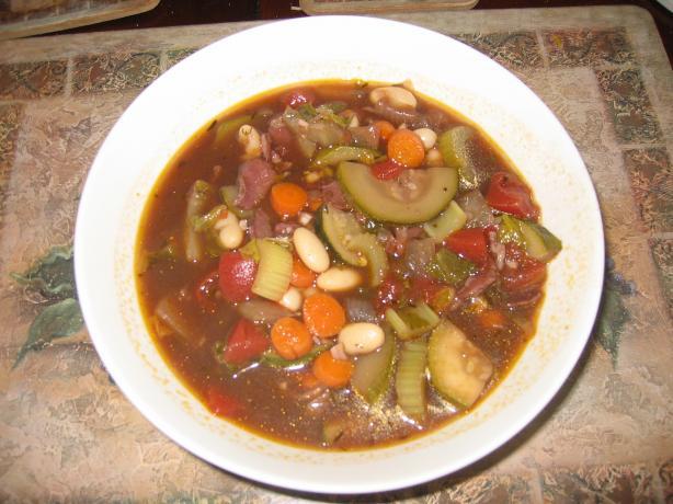 Minestrone Soup (Modena Style)
