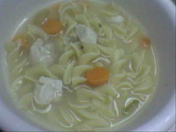 Yummy Chicken Noodle Soup
