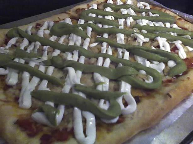 Fish Taco Pizza
