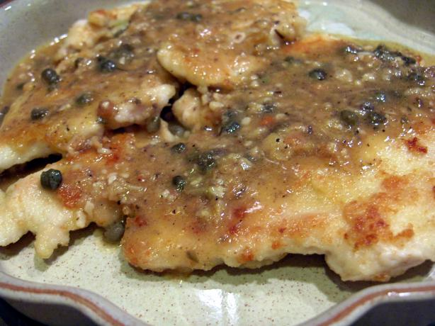 Sylvia's Chicken Scaloppine