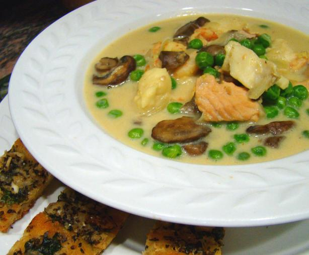 Curried Seafood Chowder