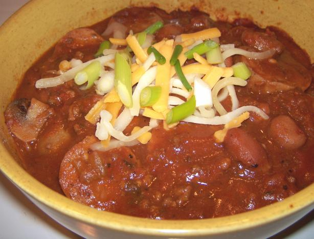 Sooz's Chili (Ground Beef and Beans)