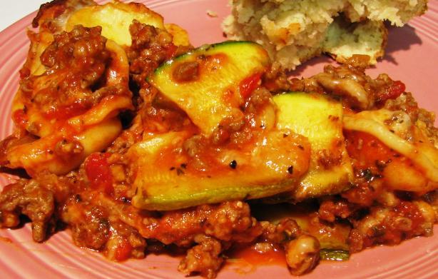 Ravioli & Zucchini Lasagna